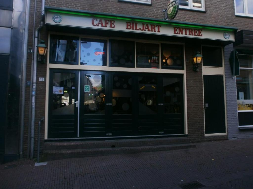 Café Biljart Entree